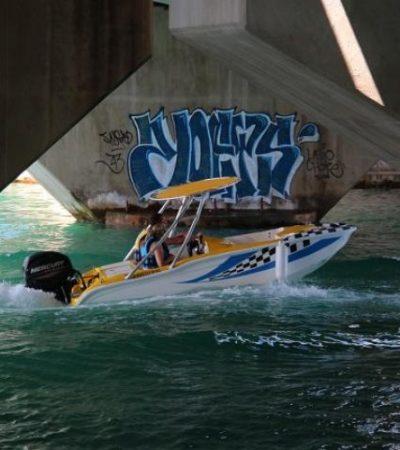 SE 'ESFUMÓ' PRESUNTO SUICIDA: No aparece el hombre que se lanzó desde el puente Calinda en la Zona Hotelera de Cancún