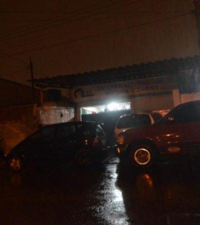 CONSUMAN EJECUCIÓN EN CANCÚN: Balean a un hombre en taller mecánico de la Región 100; muere en el hospital