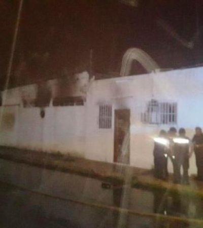 Se incendia bodega de Aviomar en Cozumel
