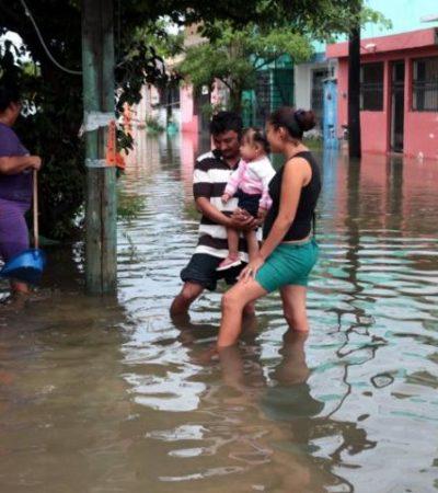 SE METE EL AGUA A LAS CASAS: Vecinos de la 'Donceles 28', 'golpeados' por las lluvias y la negligencia
