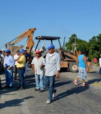 """""""NOS SIGUEN DANDO LARGAS"""": Alistan ejidatarios de Juan Sarabia nueva protesta; tomarán sede de la SCT en Quintana Roo"""