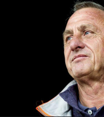 PESAR EN EL FUTBOL POR JOHAN CRUYFF: El legendario jugador y ex entrenador del Barcelona sufre cáncer de pulmón