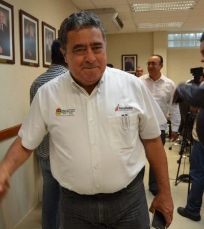 """""""DEJA QUE LO TOMEN Y LO VEMOS"""": Ante amenaza de ejidatario de protesta en aeropuerto de Chetumal, dice Mendicuti que """"estará atento"""" para intervenir"""
