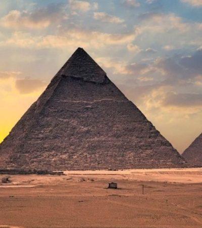 BUSCAN DEVELAR MISTERIOS DE PIRÁMIDES DE GUIZA: Con moderna tecnología, 'escanearán'  los milenarios monumentos para aclarar cómo se construyeron