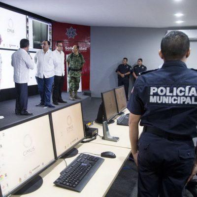 BETO Y MAURICIO SE PONEN 'INTELIGENTES': Con 5 mdp, inauguran el CIMUS, centro de vigilancia y control en Playa mediante cámaras y GPS