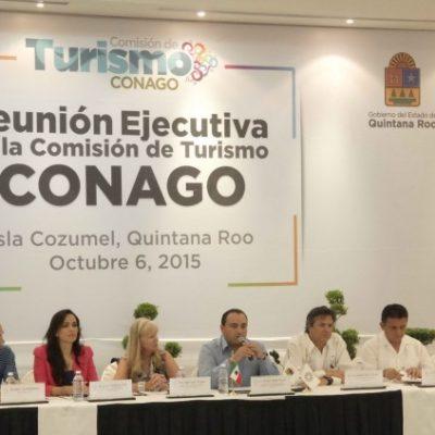 Sesiona en Cozumel la Comisión de Turismo de la Conago por el tema de los cruceros