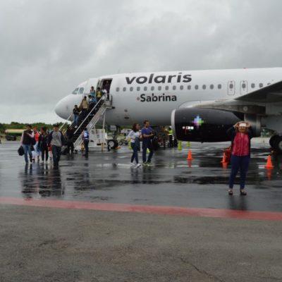 Justifica Volaris suspensión de vuelo el pasado domingo en Chetumal