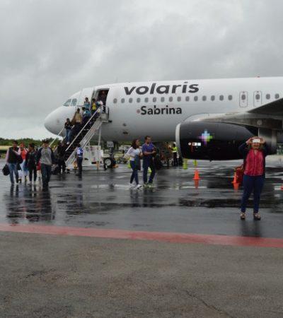 VOLARIS LLEGA A CHETUMAL: Abren ruta aérea desde la capital de QR al DF con 3 vuelos por semana