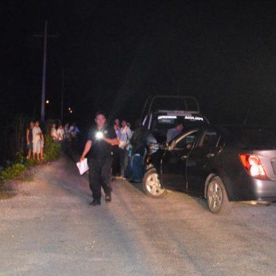 Por una cerveza, de un balazo en la cabeza matan a un joven de 20 años en el poblado Francisco May