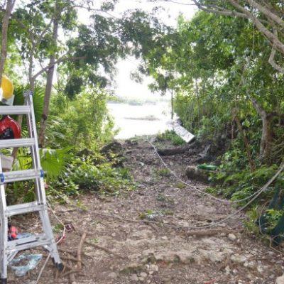 Entregan a familiares cuerpo de mujer ahogada en una sascabera de Cancún
