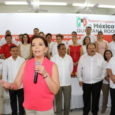 LAS MUJERES SE PONEN AL BRINCO: Ley Electoral de Quintana Roo no prosperará, dice líder priista Carolina Monroy; anuncian inédita impugnación