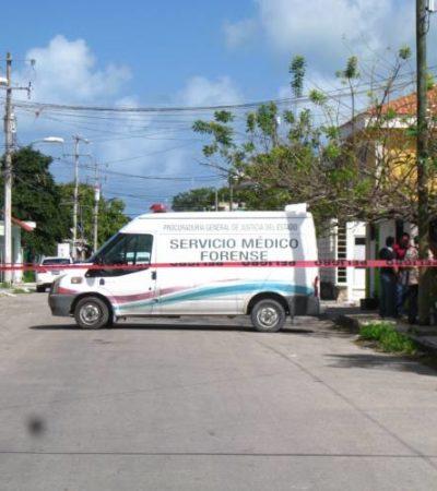 Hallan muerto a hombre de la tercera edad en Cozumel; temen posible asesinato