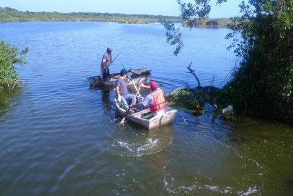 Concluyen que hombre muerto en la sabana de Chetumal fue atacado por cocodrilo mientras nadaba