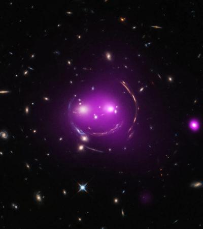 La foto del 'Gato Cheshire' en el espacio prueba el efecto de 'lente gravitacional' que predijo la teoría de la Relatividad de Einstein