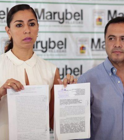 """""""EL AGRESOR NO ACTUÓ SOLO"""": Presenta diputada Marybel Villegas denuncia en PGR por ataque contra su esposo; el móvil es político, dice"""