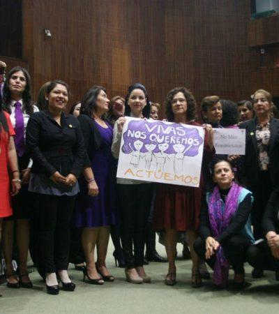 RETUMBAN FEMINICIDIOS EN EL CONGRESO: Diputadas reclaman detener asesinatos de mujeres en el país