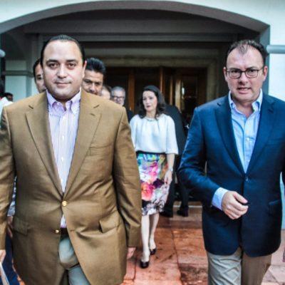 """""""¡YA LA HICIMOS!"""": Dice Videgaray en Cancún que los bolsillos de los mexicanos 'ya están sintiendo' los beneficios de las reformas de Peña Nieto"""