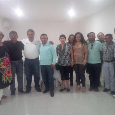 Se reúne Mendicuti con el Concejo de Puerto Morelos para aterrizar estrategias para el arranque del nuevo municipio