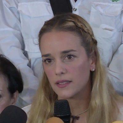 """""""ME QUIEREN MATAR"""": Tras asesinato de líder opositor, esposa de preso Leopoldo López acusa a Maduro"""