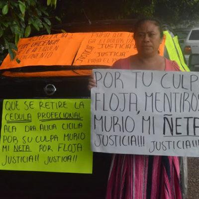 Denuncian muerte de bebé por presunta negligencia médica en hospital de Morelos
