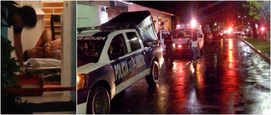 DOBLE EJECUCIÓN A BALAZOS EN CHETUMAL: Un hombre armado asesina en céntrico restaurante al contrabandista 'El Español' y a un policía ministerial