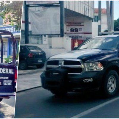 ARRIBA LA GENDARMERÍA A PLAYA: Que federales llegaron a la Riviera Maya para 'labores preventivas'