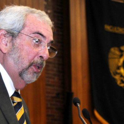 LA UNAM YA TIENE RECTOR: Enrique Luis Graue, director de la Facultad de Medicina, relevará a José Narro