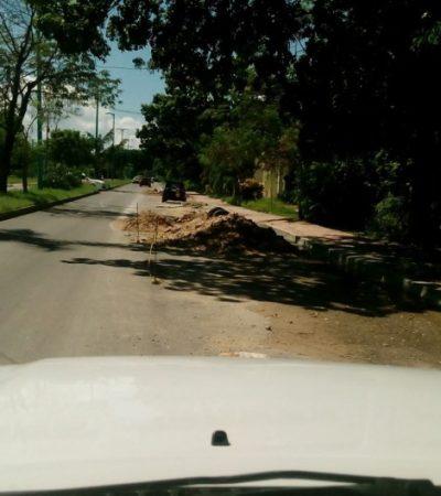 Presenta regidor panista queja ante la Función Pública por malos trabajos de repavimentación en Chetumal