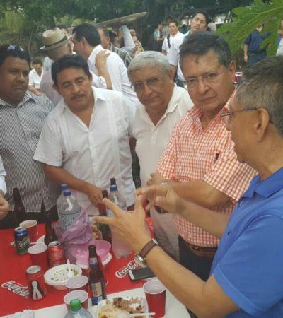 EL ARTE DE CAER PARADO: Joaquín González Castro, 'joaquinista', 'villanuevista', 'lopezobradorista'  y ahora reaparece como 'chanista'