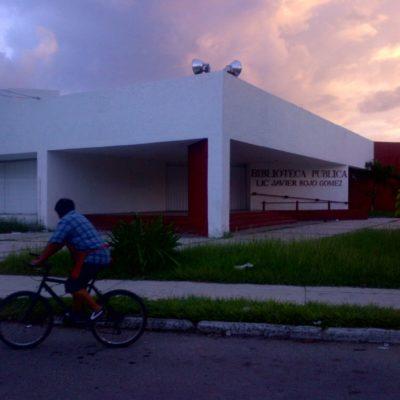 Tras deterioro agravado por pasadas lluvias, SEyC cierra Biblioteca 'Rojo Gómez' para remodelación sin fecha de entrega