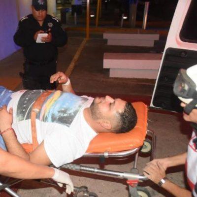 """""""NO SÉ A QUÉ SE DEDICA MI COMPADRE"""": Declara hombre baleado durante 'levantón' en Cancún"""
