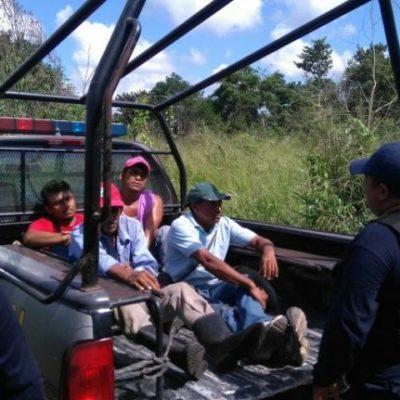 Evitan otro posible linchamiento de 3 presuntos ladrones en poblado al sur de QR