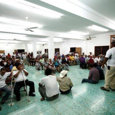 TREGUA DE EJIDATARIOS A SCT: Tras cierre de carretera, acuerdan funcionarios empezar a pagar indemnizaciones a los de Juan Sarabia