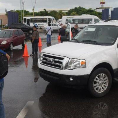 Mientras inseguridad y crímenes campean en Cancún, policías bajo un 'mando único' realizan simulacros
