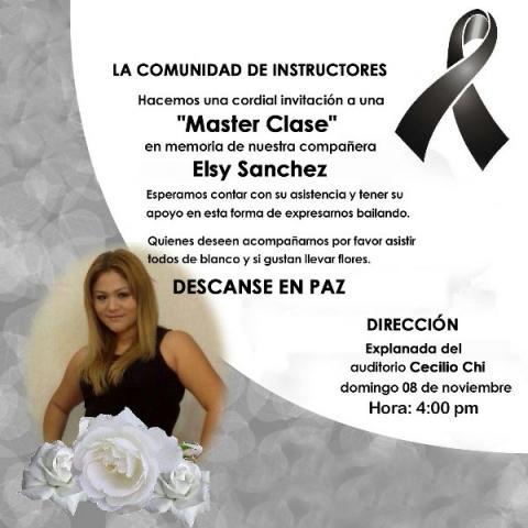 Con una clase masiva de zumba en domingo, protestarán en Cancún por el asesinato de la maestra Elsy Sánchez