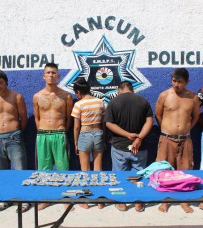 Balazos en Paraíso Maya activan 'código rojo' en Cancún; detienen a 6 con armas y marihuana