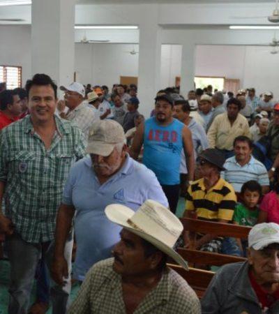Aceptan ejidatarios de Juan Sarabia pago en abonos de indemnización de SCT por tierras
