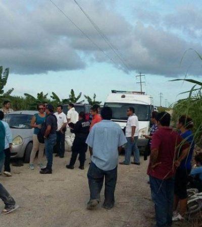 CRIMEN EN SERGIO BUTRÓN: Matan de un escopetazo a campesino en poblado en el sur de Quintana Roo