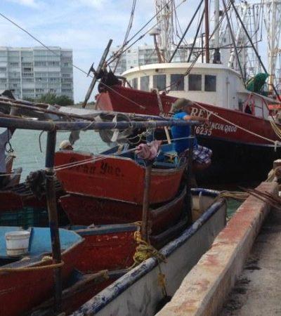 Frente frío mantiene cerrados los puertos a la navegación menor en Quintana Roo