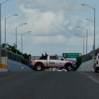 CIERRAN 'HUECOS' EN EL PUENTE CHACTEMAL: Refuerzan seguridad en la frontera sur para frenar ilícitos