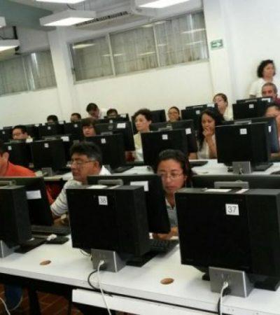 Con 96.7% de participación, concluye evaluación de maestros en Quintana Roo