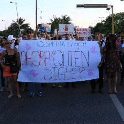 Altavoz   Exhiben asesinatos de mujeres fracaso del Gobierno de QR en ocultar su ineficacia, insensibilidad y frivolidad frente a la tragedia