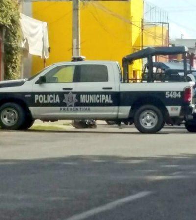 DESCUBREN A 'ENMALETADO' EN CANCÚN: Encuentran en domingo a hombre asesinado en la Región 510, en la Avenida Las Torres