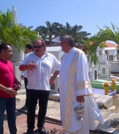 Niega Abuxapqui privatización de capilla del Panteón Municipal de Chetumal