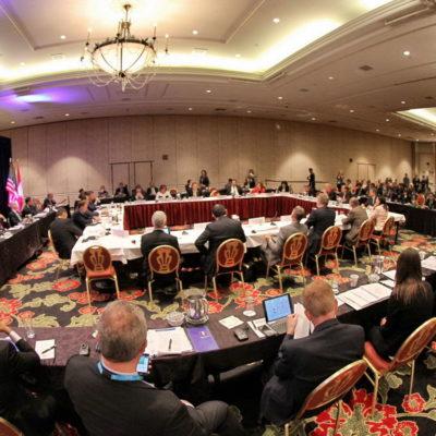Participa Borge en cumbre de gobernadores  de América del Norte en Colorado Springs