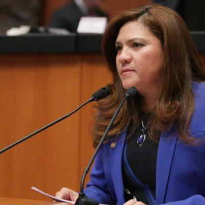 """""""HABLO POR LAS MUJERES QUE VIVEN AHÍ Y LAS QUE VIVIMOS MUY CERCA"""": Senadora yucateca pide alerta de género para Quintana Roo"""