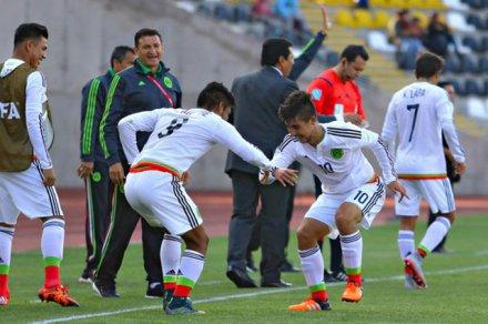 Avanza México a semifinales de la Copa del Mundo Sub-17 al vencer 2-0 a Ecuador