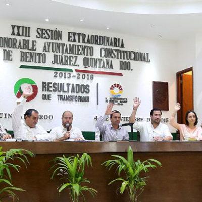 Aprobación de trámite en el Cabildo de BJ del decreto para crear el municipio de Puerto Morelos