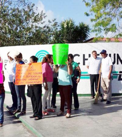 Protestarán maestros de Bachilleres; habrá paros en escuelas