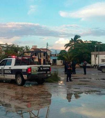 HALLAN A UN ASESINADO ENTRE LA BASURA: Encuentran partes de una persona embolsada en un contenedor de desechos en la SM 64 de Cancún